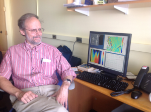 Glenn Flierl is a tenured Professor of Oceanography in MIT's Department of Earth, Atmospheric, and Planetary Sciences. Photo courtesy of John Marshall.