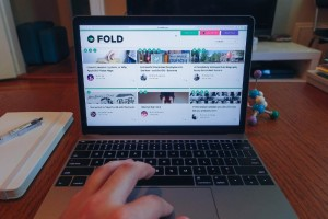 FOLD is an easy to use online publishing tool that adds context to stories, making them richer and more engaging–perfect for science communication. (Courtesy of Alexis Hope).